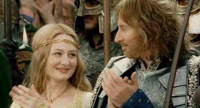Faramir And Eowyn's Stor... is listed (or ranked) 5 on the list Serious Tolkien Fans Completely Freak Out Over These Parts Of Lord Of The Rings