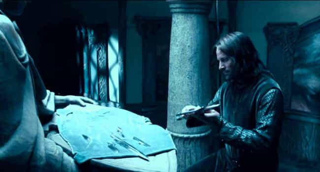 Aragorn's Sword And Elrond's P... is listed (or ranked) 4 on the list Serious Tolkien Fans Completely Freak Out Over These Parts Of Lord Of The Rings