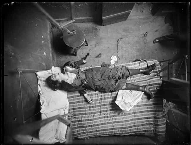 Woman, Eyes Wide Open, M... is listed (or ranked) 3 on the list 15 Visceral Crime Scene Photos From 1910s New York