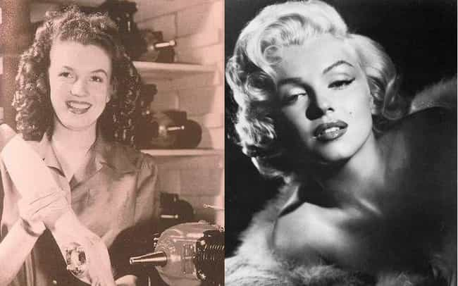 The Records Revealed That She ... is listed (or ranked) 1 on the list Marilyn Monroe Plastic Surgery Secrets Revealed