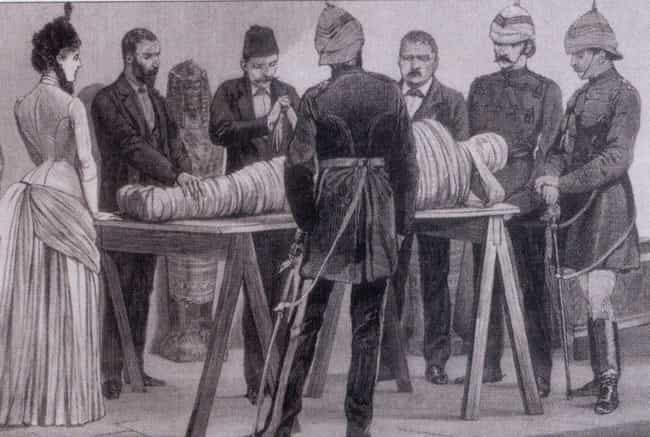 A Good Corpse Unwrapping Often... is listed (or ranked) 2 on the list Rich People In Victorian England Would Get Drunk And Unwrap Corpses For Fun