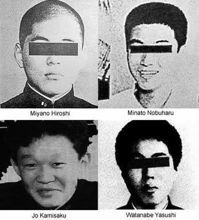 Three Of Her Captors Rec... is listed (or ranked) 6 on the list Horrifying Facts About The Murder Of Junko Furuta