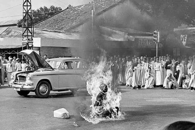 JFK Addressed The Moment... is listed (or ranked) 4 on the list The Reason This Buddhist Monk Self-Immolated Is Uncomfortably Familiar