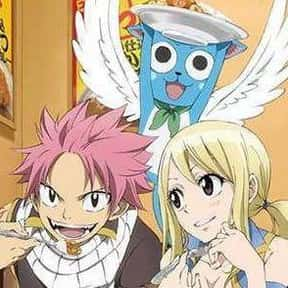 Natsu, Lucy, And Happy - Fairy is listed (or ranked) 9 on the list The 20+ Greatest Anime Trios Of All Time