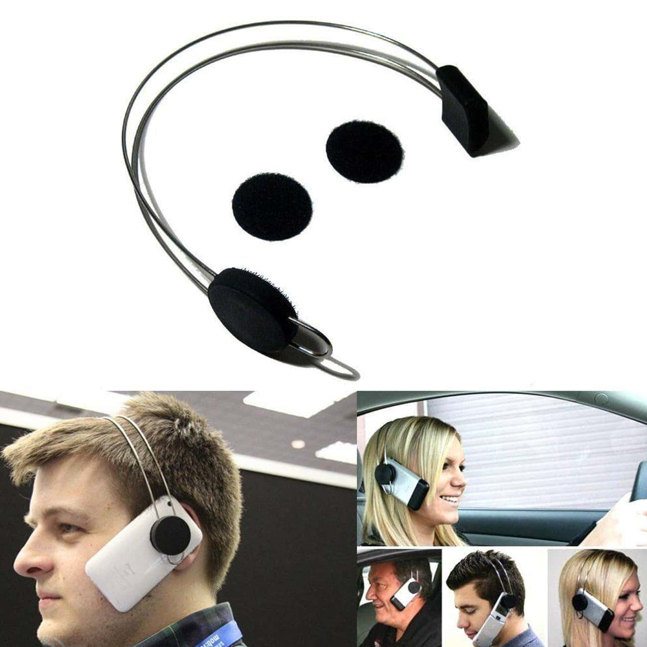 This Idiotic Phone Headband is listed (or ranked) 3 on the list If You Own Any Of These Phone Accessories, Then You're The Worst