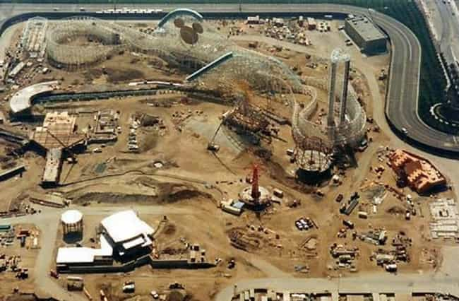 The Future Site Of Disney'... is listed (or ranked) 2 on the list Amazing Photos Of Your Favorite Disney Rides Under Construction