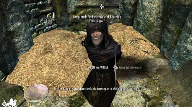 The Player Tortures A Pr... is listed (or ranked) 3 on the list The Most Intensely Disturbing Quests In All Of 'The Elder Scrolls'
