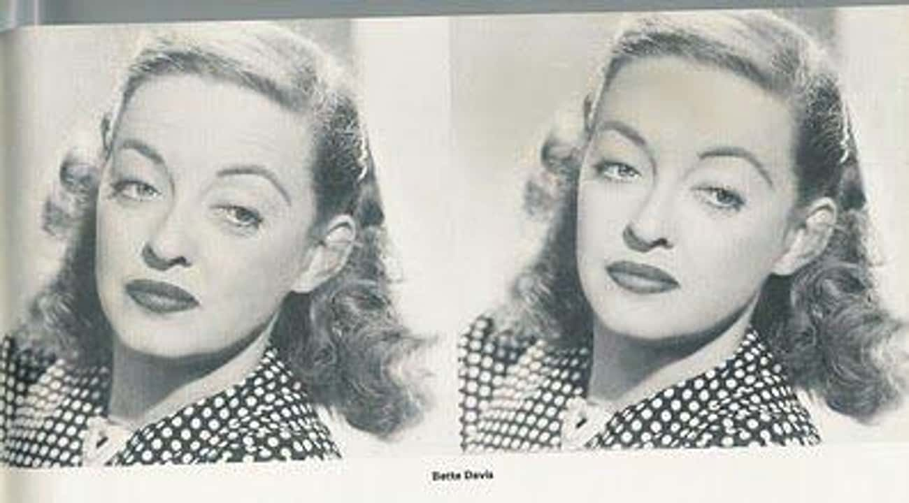 Bette Davis Had Become Known A is listed (or ranked) 3 on the list Doctored Photos Of Old Movie Stars Photoshopped Before Photoshop