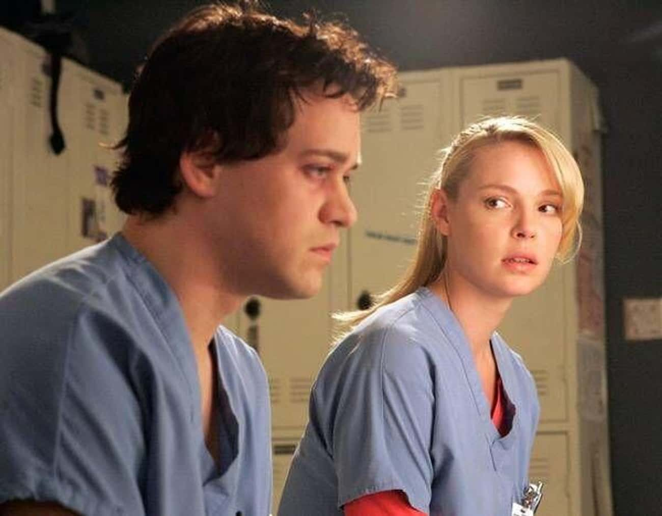 Izzie And George, 'Grey's Anat is listed (or ranked) 1 on the list 14 Insufferable Relationships That Almost Ruined Great TV Shows