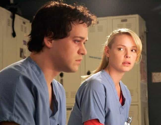 Izzie And George, 'Grey'... is listed (or ranked) 1 on the list 14 Insufferable Relationships That Almost Ruined Great TV Shows