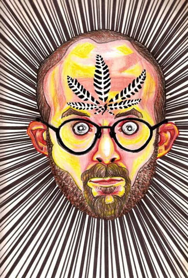Marijuana (G13) is listed (or ranked) 2 on the list This Guy Painted Self-Portraits On 30 Different Drugs