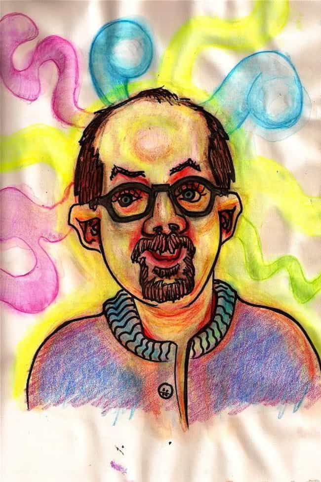 Hash is listed (or ranked) 4 on the list This Guy Painted Self-Portraits On 30 Different Drugs