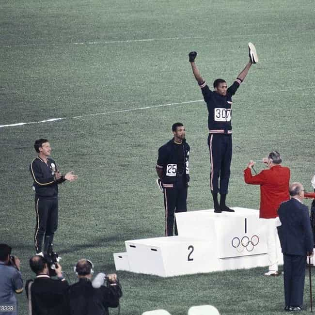 Norman Was A Human Right... is listed (or ranked) 2 on the list The White Guy In The Black Power Olympics Photo Paid A Huge Price For His Help