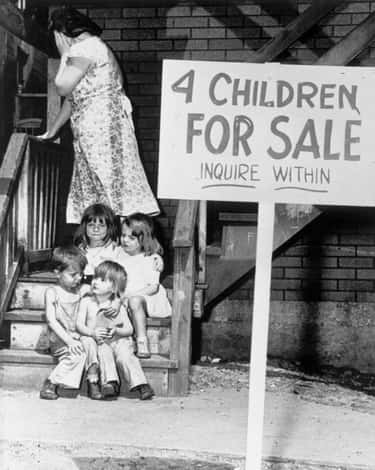 Their Mother Was Pregnant When is listed (or ranked) 1 on the list The Tragic Story Behind The Photo Of Four Children Who Had To Be Sold To Escape Poverty In The 1940s