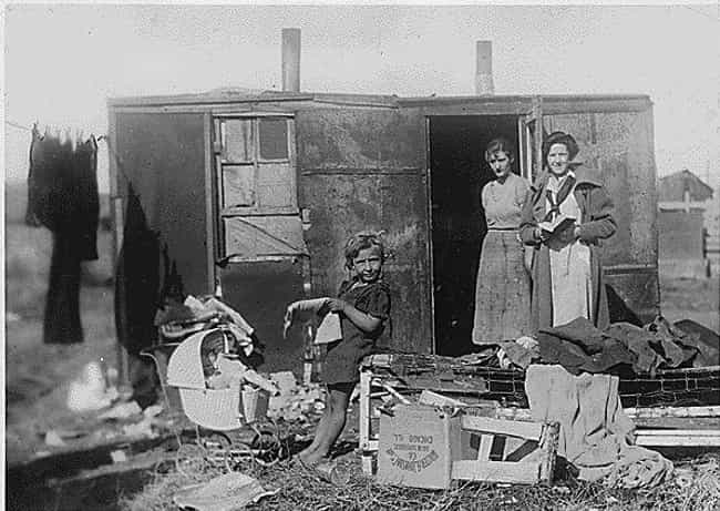 Some Of The Children Were All... is listed (or ranked) 4 on the list The Tragic Story Behind The Photo Of Four Children Who Had To Be Sold To Escape Poverty In The 1940s
