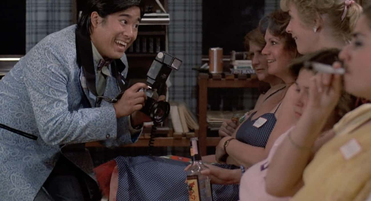 "Gay Men, Asians, And The Blind is listed (or ranked) 4 on the list The 1980s ""Comedy"" Revenge Of The Nerds Was A Nightmare Of Homophobia, Racism, And Sexual Assault"
