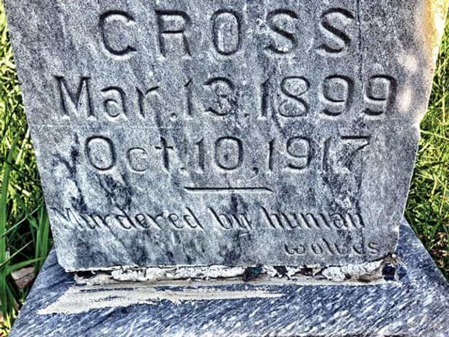 This Teen Done In By 'Hu... is listed (or ranked) 2 on the list These Cryptic Messages On Tombstones Only Hint At Their Terrifying Backstories