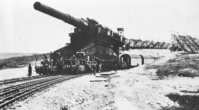 The Gustav Was Four Stor... is listed (or ranked) 2 on the list This Isn't A Tank - It's The Single Largest Gun Ever Used In Military History