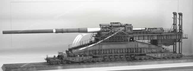 It Required Nearly 2,000... is listed (or ranked) 3 on the list This Isn't A Tank - It's The Single Largest Gun Ever Used In Military History