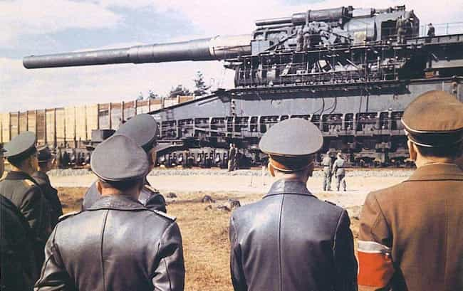 Hitler Was Bent On Invad... is listed (or ranked) 1 on the list This Isn't A Tank - It's The Single Largest Gun Ever Used In Military History