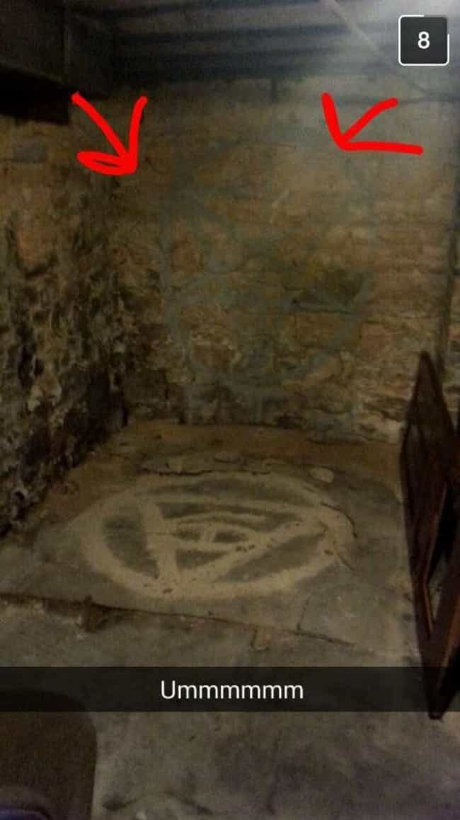 Aftermaths Of Satanic Rituals In Abandoned Buildings