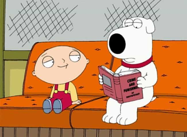 Brian Is Intelligent Because H... is listed (or ranked) 2 on the list Family Guy Fan Theories So Crazy They Might Be True