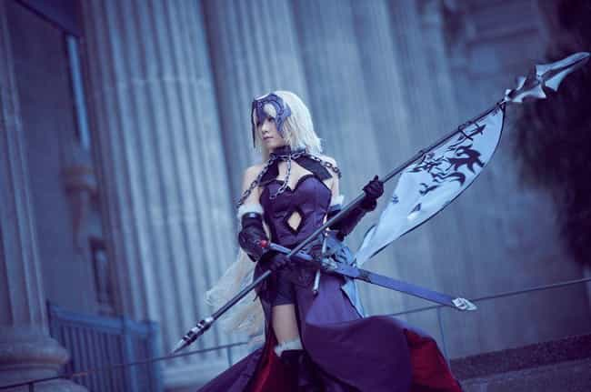 Avenger (Jeanne d'Arc Al... is listed (or ranked) 4 on the list Amazing Cosplay From The Fate Series