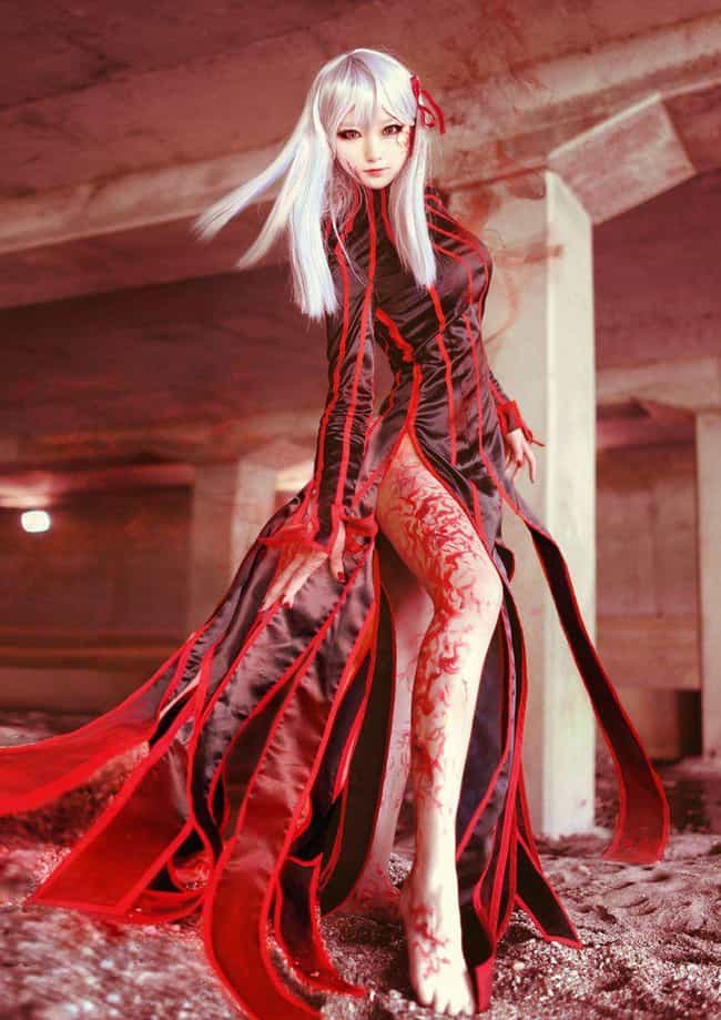 Dark Sakura Matou From Fate/St... is listed (or ranked) 2 on the list Amazing Cosplay From The Fate Series