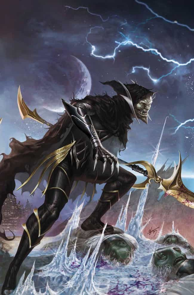Corvus Glaive is listed (or ranked) 1 on the list The Secret History Of The Black Order, The Most Terrifying Villain Team In Marvel History