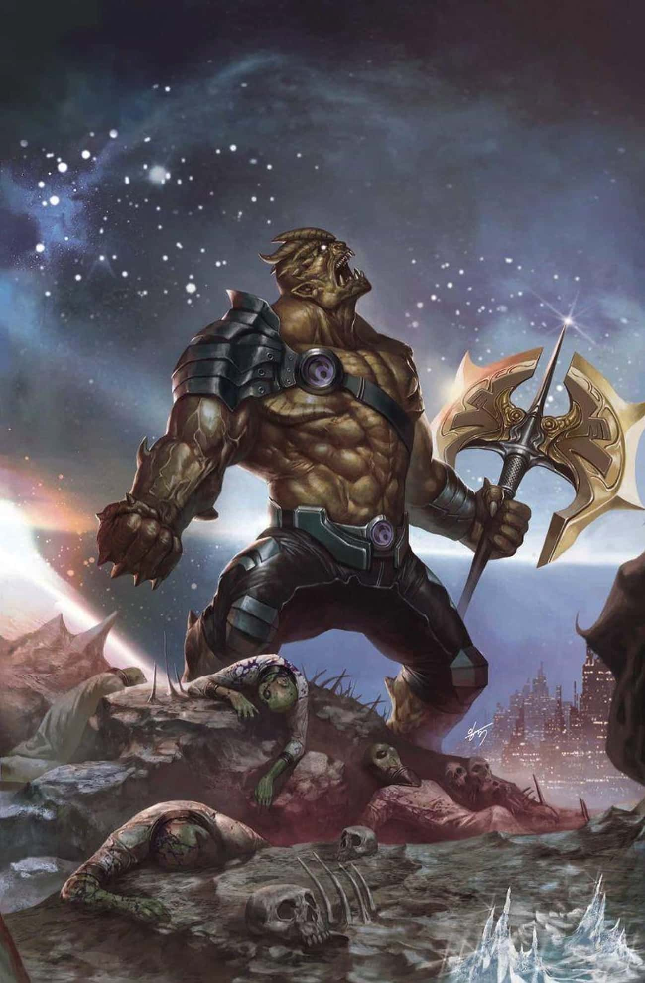 Black Dwarf/Obsidian Cull is listed (or ranked) 3 on the list The Secret History Of The Black Order, The Most Terrifying Villain Team In Marvel History
