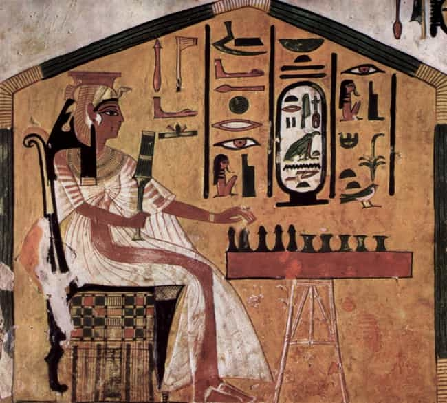 Elaborate Board Games is listed (or ranked) 4 on the list Odd And Insane Things Ancient Pharaohs Were Buried With