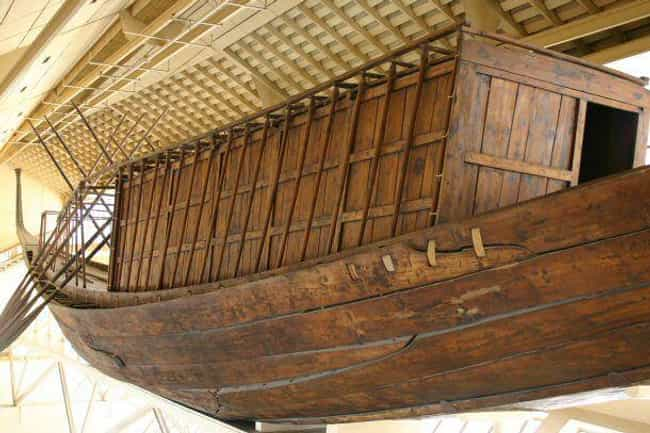 Enormous Boats is listed (or ranked) 1 on the list Odd And Insane Things Ancient Pharaohs Were Buried With