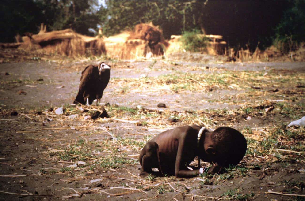 Kevin Carter Claimed That He C is listed (or ranked) 1 on the list The Pulitzer Prize-Winning Photo So Emotionally Devastating, The Photographer Took His Own Life