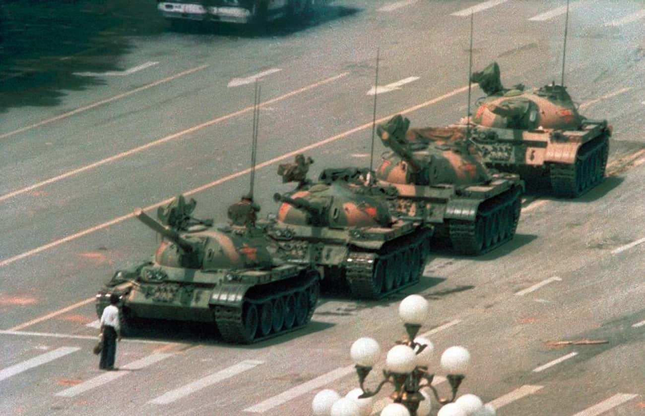 Tank Man's Protest Was Lik is listed (or ranked) 1 on the list The Enduring Mystery Of What Happened To Tank Man, The Most Famous Protester Of All Time