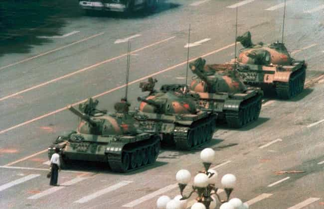 Tank Man's Protest Was Lik... is listed (or ranked) 1 on the list The Enduring Mystery of What Happened To Tank Man, The Most Famous Protester of All Time