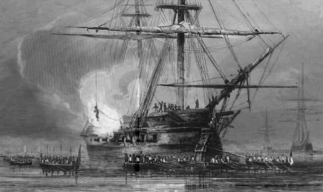 The Sailor Was Tied To Weights... is listed (or ranked) 2 on the list A Step-By-Step Walk-Through Of Keelhauling, One Of The Most Horrific Punishments Ever Devised
