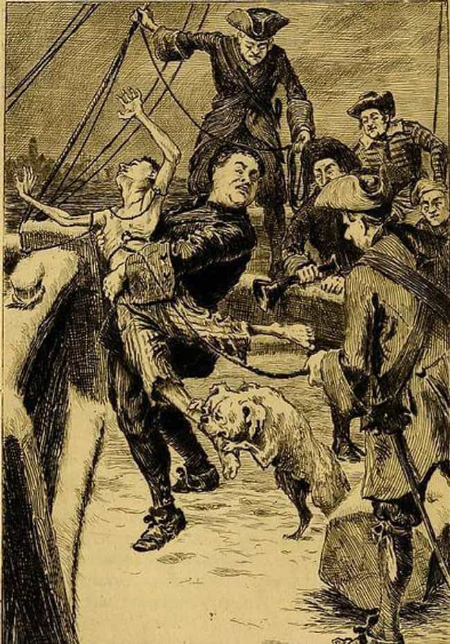 After Setting The Ropes, The C... is listed (or ranked) 3 on the list A Step-By-Step Walk-Through Of Keelhauling, One Of The Most Horrific Punishments Ever Devised