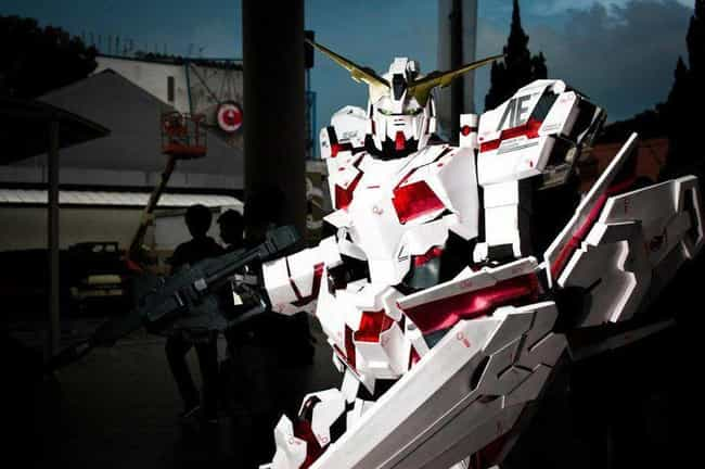 Unicorn Gundam Is Ready ... is listed (or ranked) 2 on the list 17 Pieces Of Mega Mech Cosplay That Will Blow Your Darn Mind