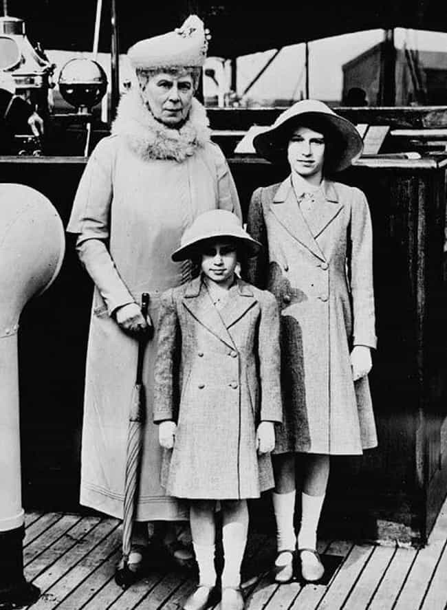 Queen Mary And Her Royal... is listed (or ranked) 2 on the list Young Photos of Queen Elizabeth II You've Never Seen Before