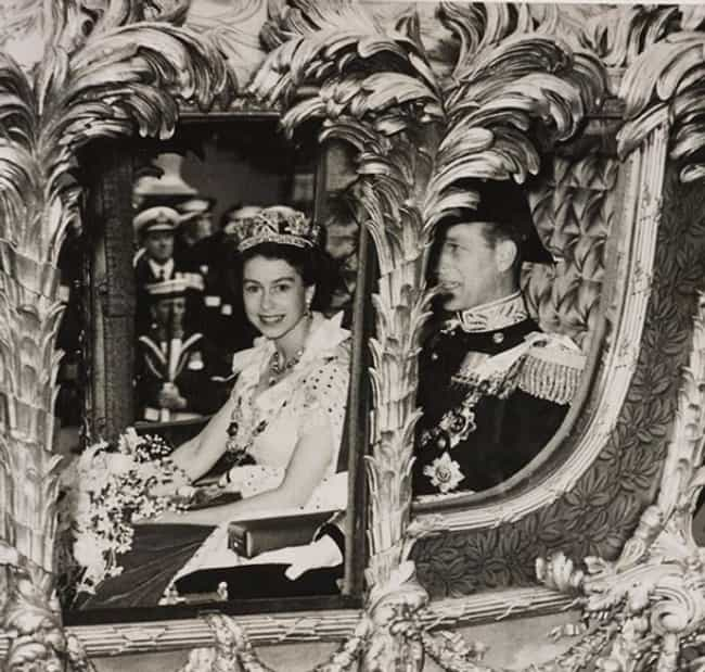 Ridin' Dirty At Her Coro... is listed (or ranked) 4 on the list Young Photos of Queen Elizabeth II You've Never Seen Before
