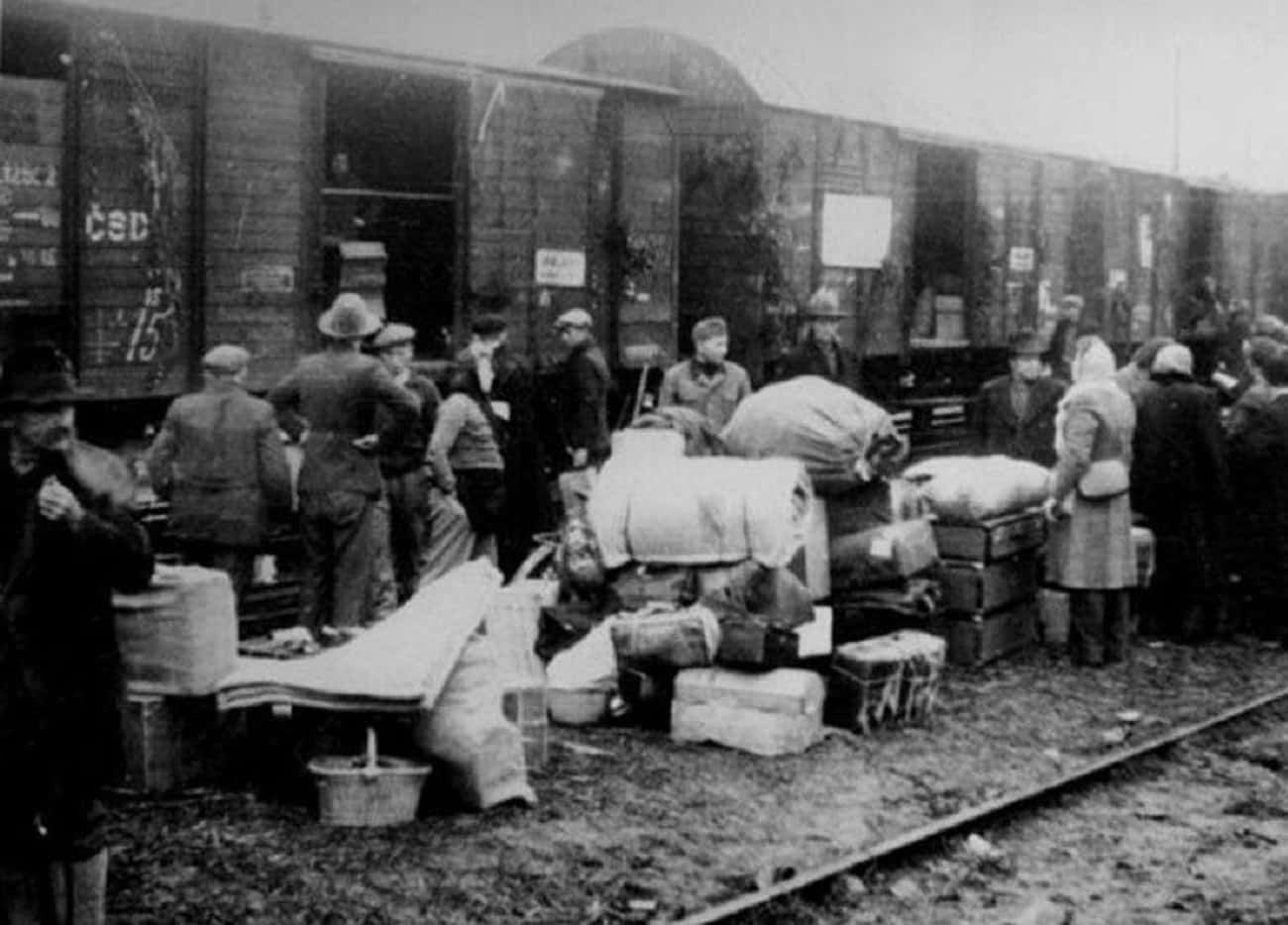 Soviet Era Deportations - Arou is listed (or ranked) 3 on the list History's Biggest Mass Deportations and What the Consequences Were