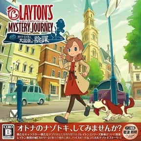 Layton's Mystery Journey: Katr is listed (or ranked) 8 on the list The Best Professor Layton Games