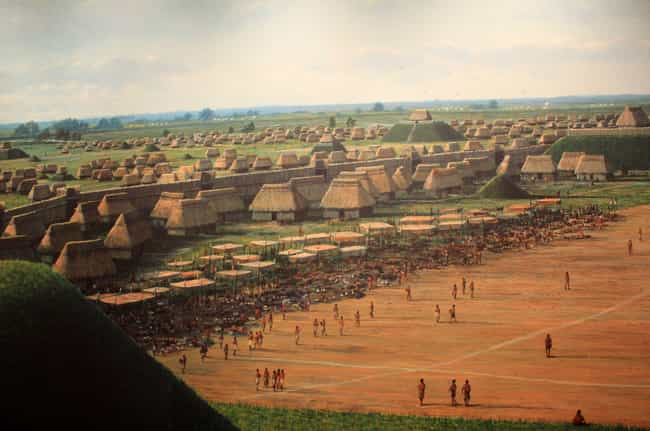 Famed For Its Mounds, Cahokia ... is listed (or ranked) 2 on the list Why Did First Nations People Abandon The Ancient And Sophisticated City Of Cahokia?
