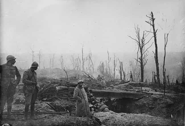 Soldiers, Trenches, And ... is listed (or ranked) 4 on the list Brutal Pictures From The Battle Of Verdun