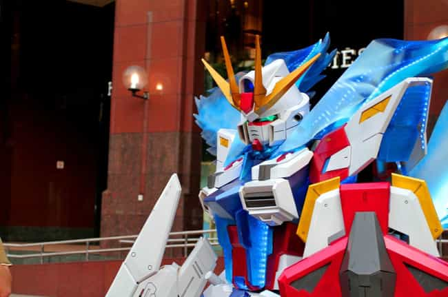 There's A Real Person In... is listed (or ranked) 1 on the list 17 Pieces Of Mega Mech Cosplay That Will Blow Your Darn Mind