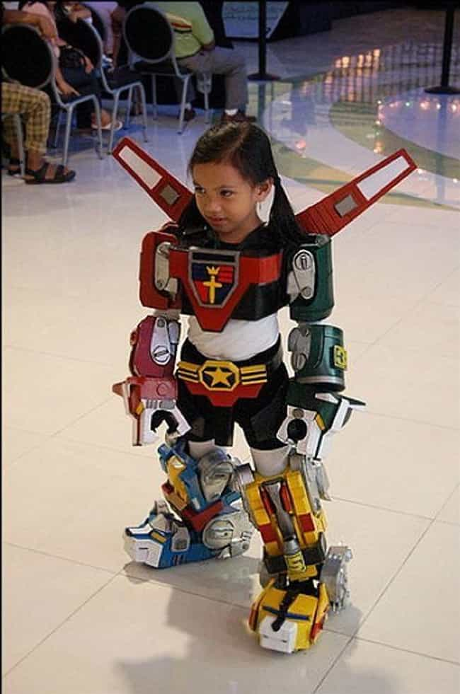 Voltron Has Never Looked... is listed (or ranked) 3 on the list 17 Pieces Of Mega Mech Cosplay That Will Blow Your Darn Mind