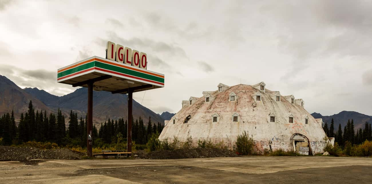 Igloo City Is An Abandoned Ham is listed (or ranked) 1 on the list Spooky Stories From Denali, AK