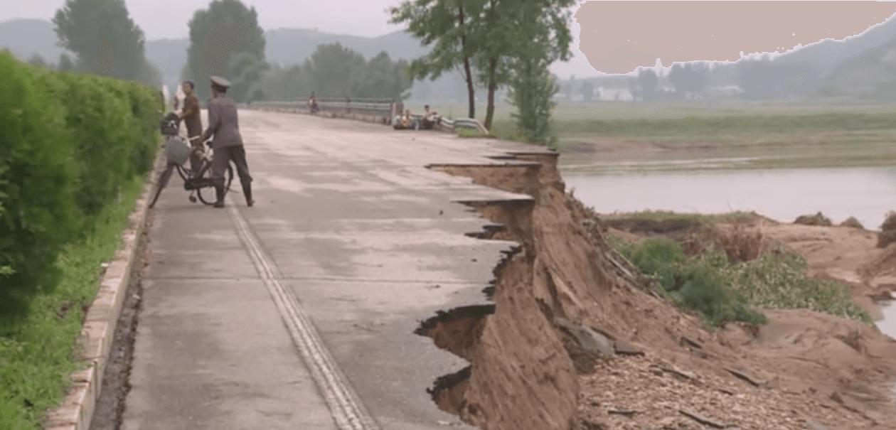 Road In Disrepair on Random Pictures Of Rural Life In North Korea
