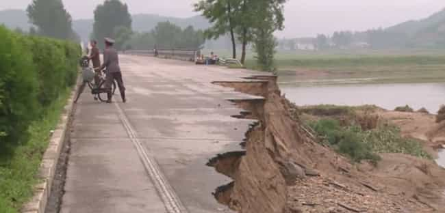 Road In Disrepair is listed (or ranked) 4 on the list Pictures Of Rural Life In North Korea