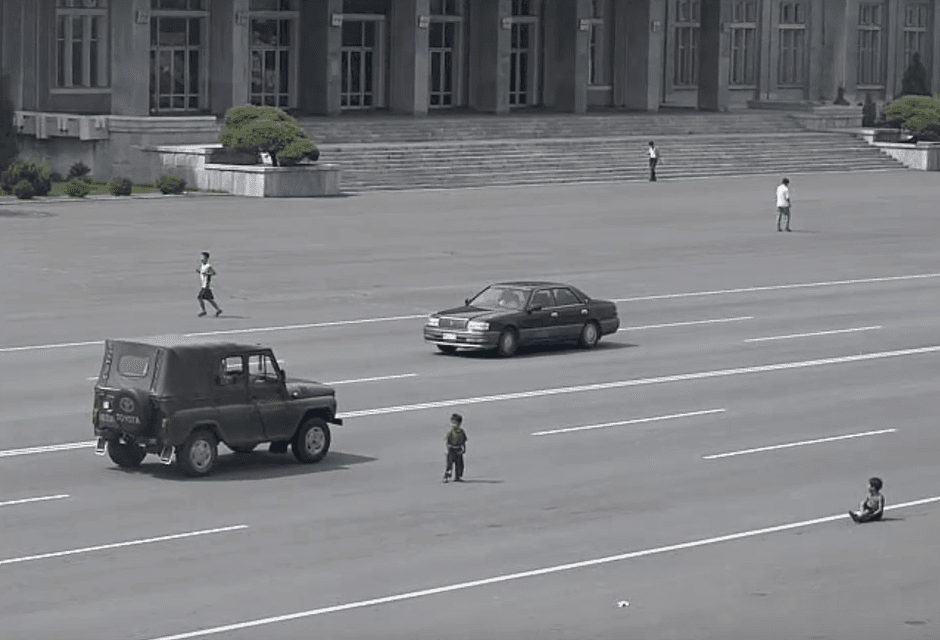Kids Freely Play In Streets Due To Lack Of Cars on Random Pictures Of Rural Life In North Korea
